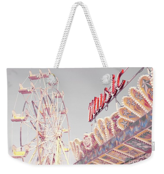 Summer Music Weekender Tote Bag