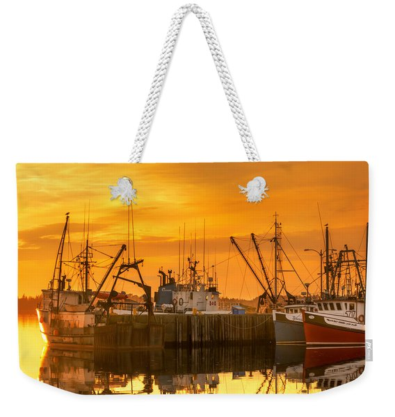 Weekender Tote Bag featuring the photograph Summer Nights by Garvin Hunter