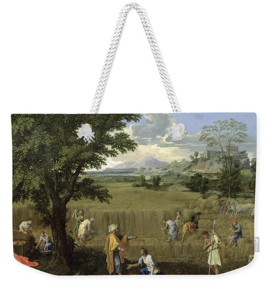 Summer, Or Ruth And Boaz, 1660-64 Oil On Canvas Weekender Tote Bag