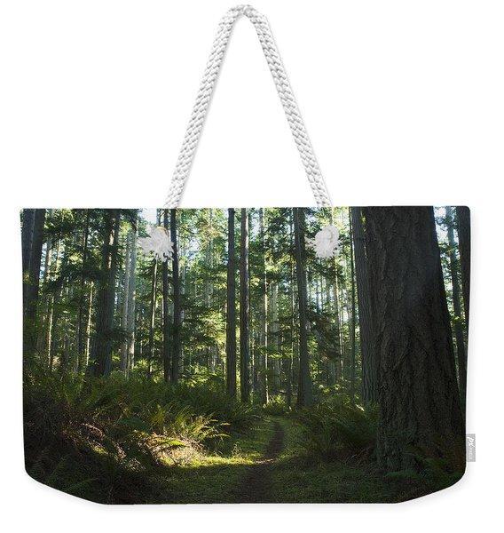 Summer Pacific Northwest Forest Weekender Tote Bag