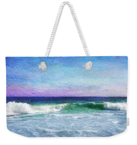 Summer Salt Weekender Tote Bag