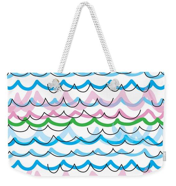 Summer Seaside  Weekender Tote Bag