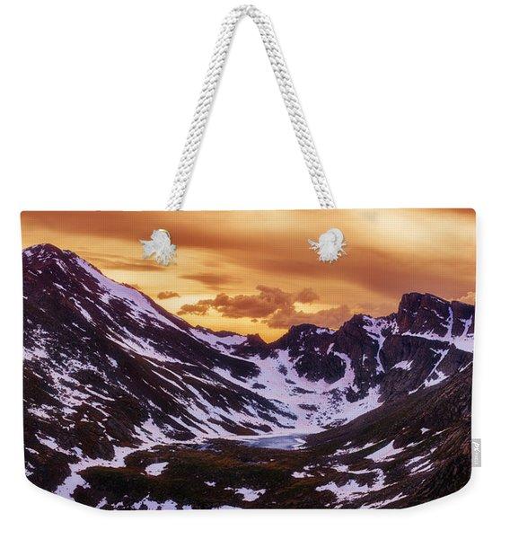 Summer Solstice Sunset Weekender Tote Bag