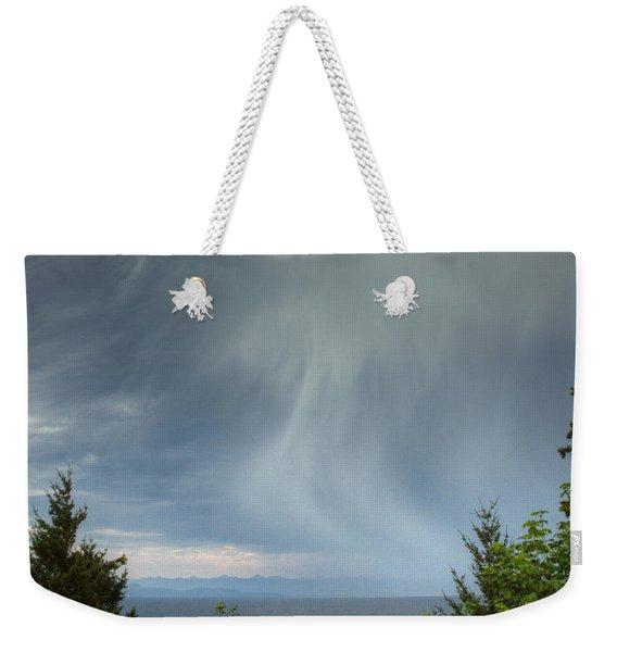 Summer Squall Weekender Tote Bag
