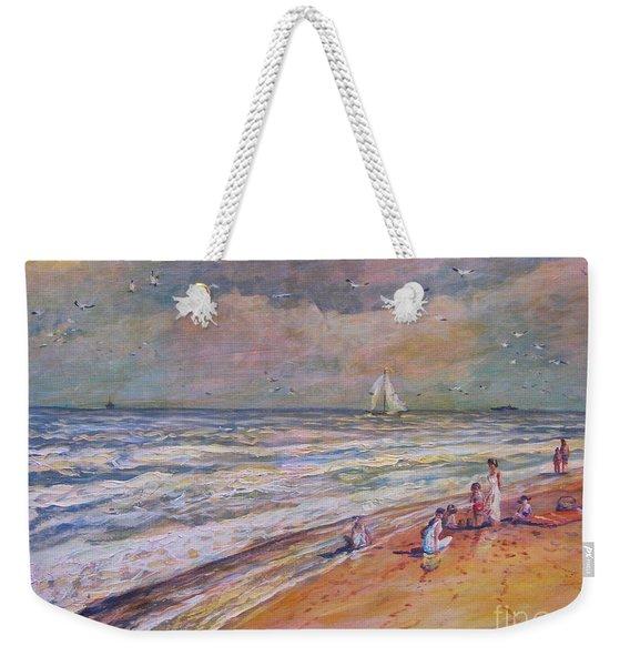 Summer Vacations Weekender Tote Bag