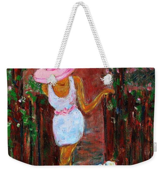 Summer Visitor Weekender Tote Bag