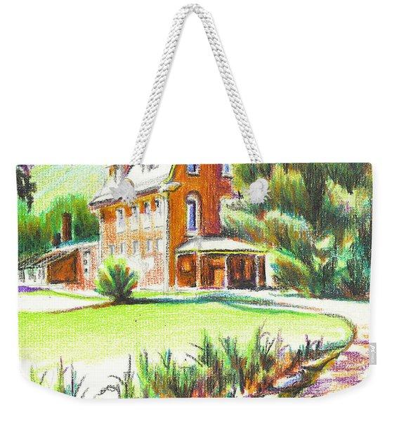 Summertime At Ursuline No C101 Weekender Tote Bag