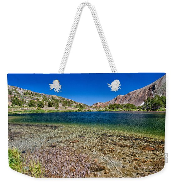 Summit Lake Weekender Tote Bag