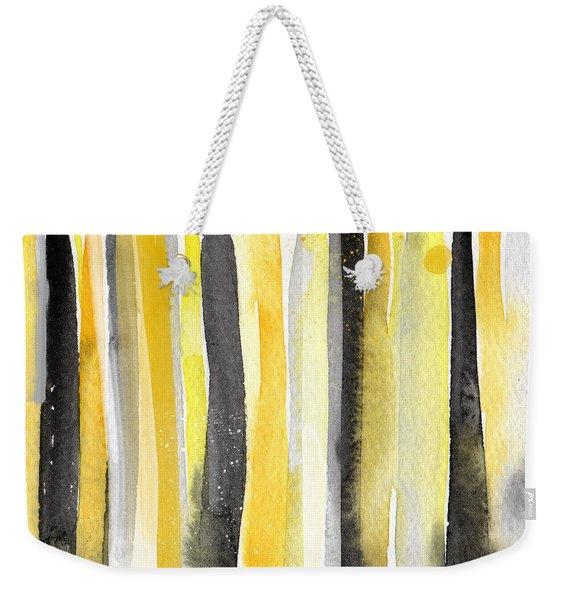 Sun And Shadows- Abstract Painting Weekender Tote Bag