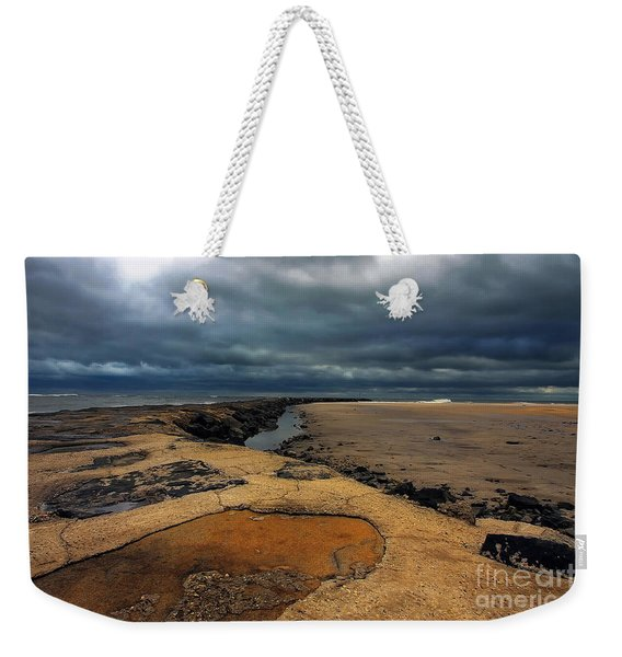 Sun Breaking Through Weekender Tote Bag
