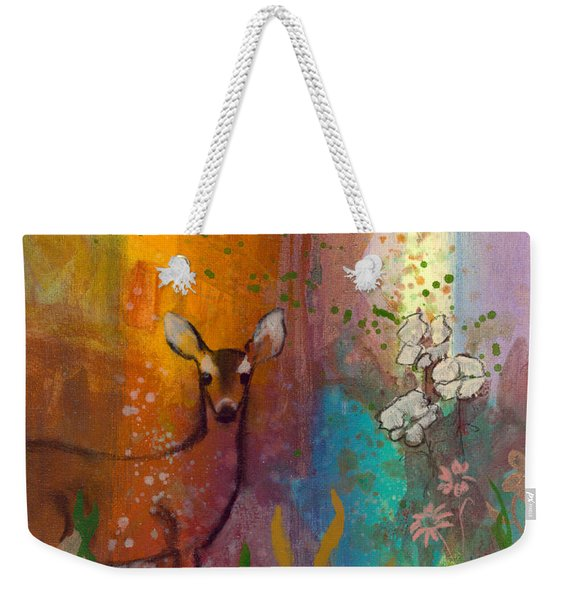 Sun Deer Weekender Tote Bag