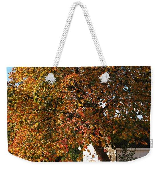 Sun Leaves Weekender Tote Bag