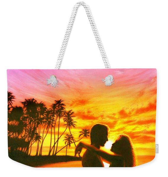 Sun Lovers Sun Worshippers Weekender Tote Bag
