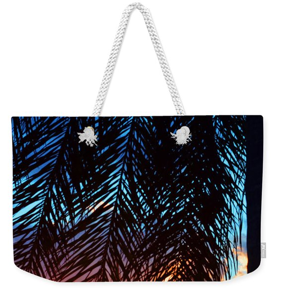 Sun Palm Weekender Tote Bag