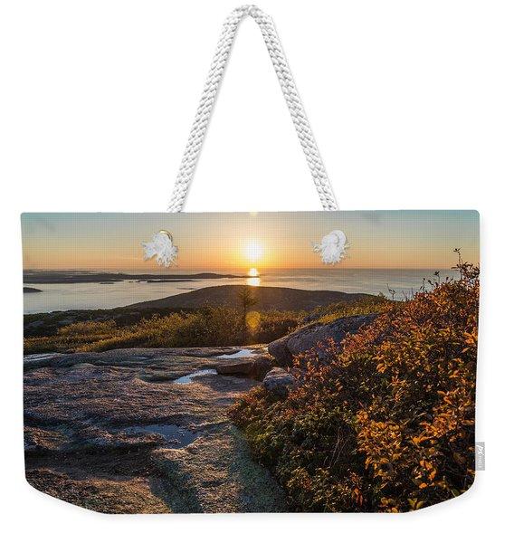 Sun Rise Shock Weekender Tote Bag