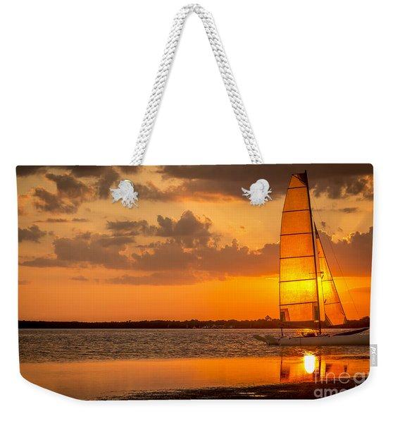 Sun Sail Weekender Tote Bag
