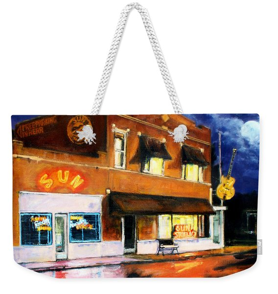 Sun Studio - Night Weekender Tote Bag