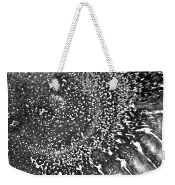 Sunburst Blackwhite Weekender Tote Bag