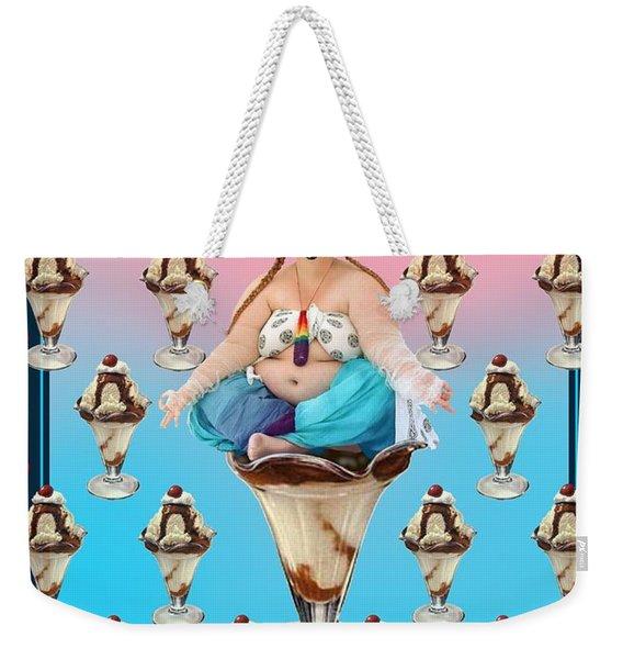 Sundae Girl Weekender Tote Bag