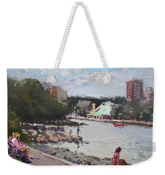 Sunday At Port Credit Park Mississauga Weekender Tote Bag