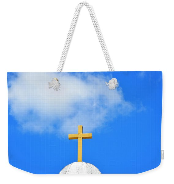 Sunday Morning - Cross Photography By Sharon Cummings Weekender Tote Bag