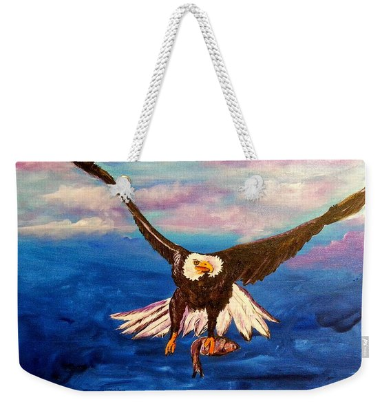 Sunday's Catch Weekender Tote Bag