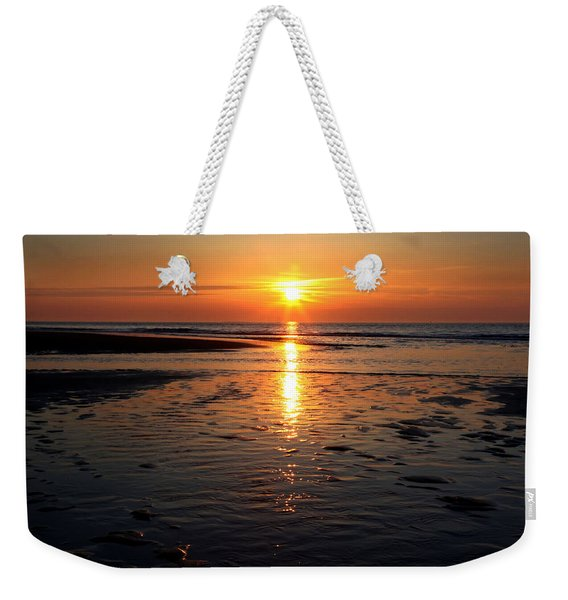 Sundown At The North Sea Weekender Tote Bag