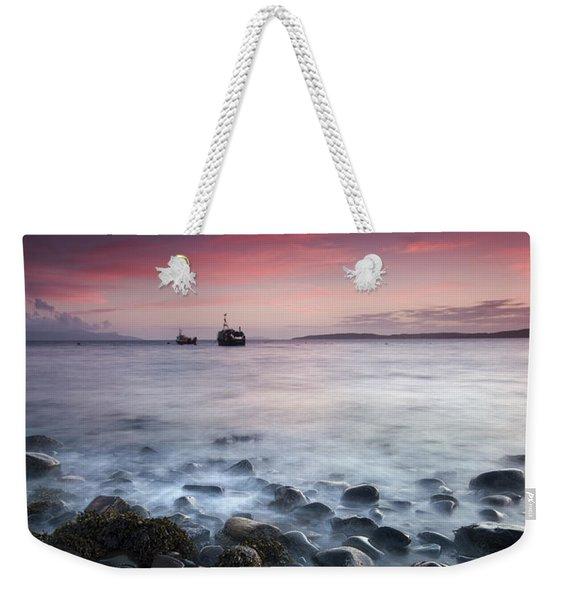 Sundown Over Elgol  Weekender Tote Bag