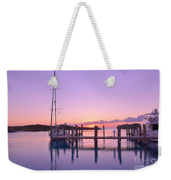 Sundown Serenity Weekender Tote Bag