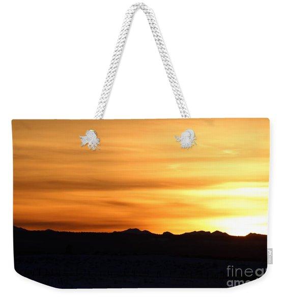 Sundre Sunset Weekender Tote Bag