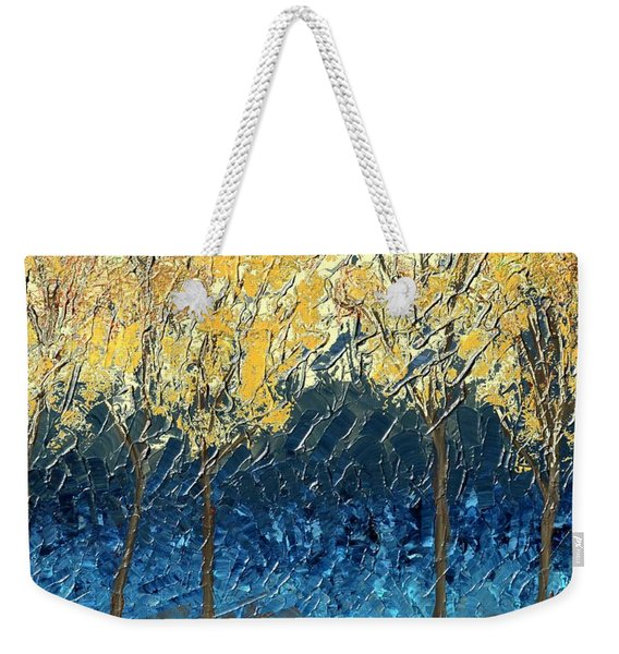 Sundrenched Trees Weekender Tote Bag