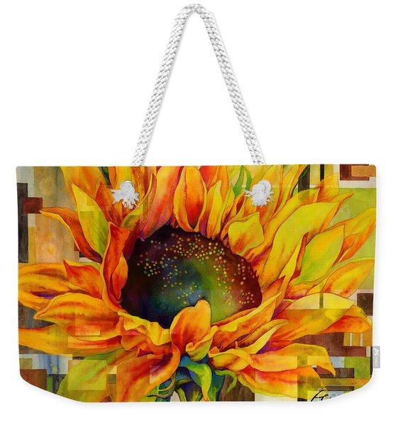 Sunflower Canopy Weekender Tote Bag