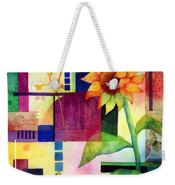 Sunflower Collage 2 Weekender Tote Bag