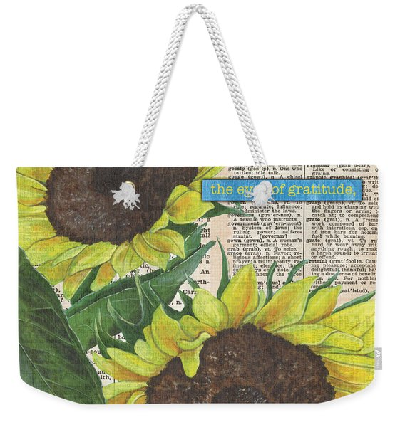 Sunflower Dictionary 2 Weekender Tote Bag