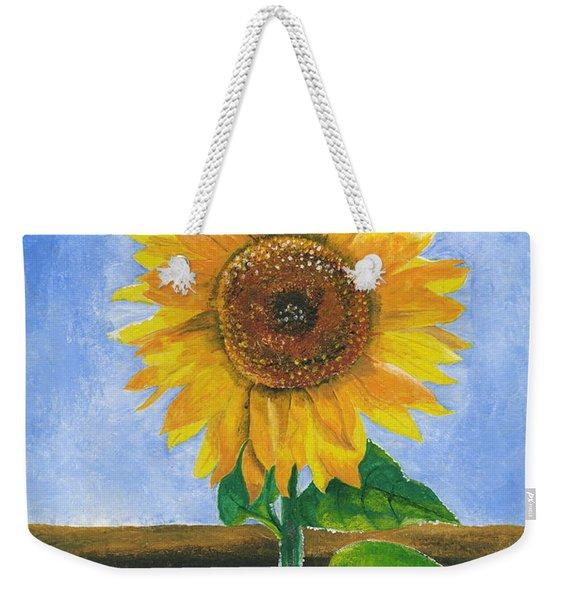 Sunflower Series Two Weekender Tote Bag