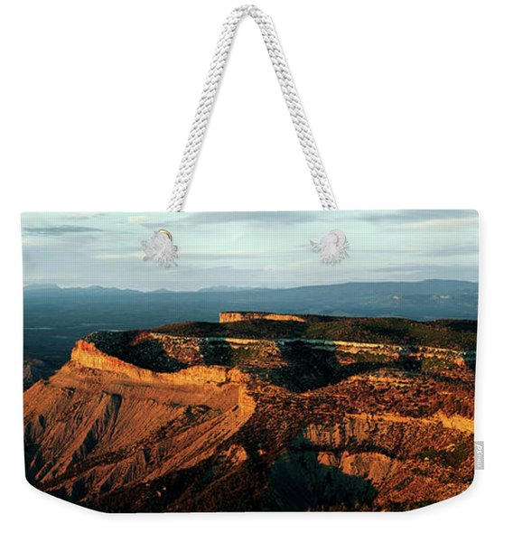 Sunlight On Rock Formations, Park Point Weekender Tote Bag