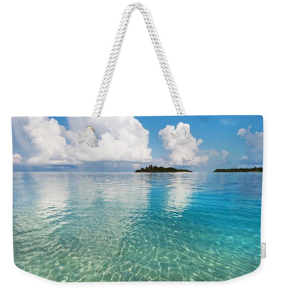Sunny Invitation For  You. Maldives Weekender Tote Bag