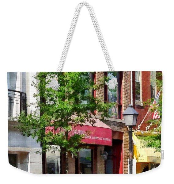 Alexandria Va - Sunny Morning Weekender Tote Bag