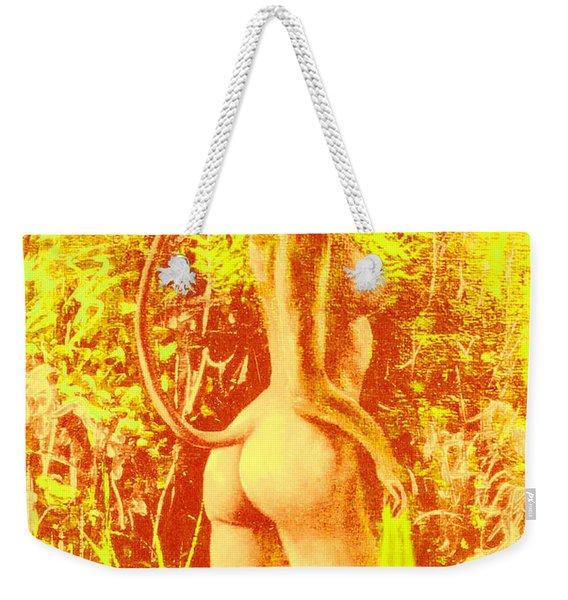 Sunny Wood Nymph Weekender Tote Bag