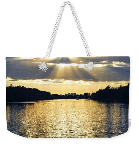 Sunrays On Toronto Island Weekender Tote Bag