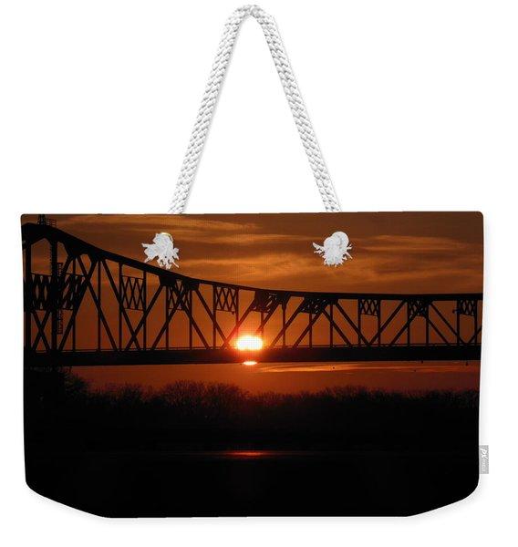 Sunrise Abridged Weekender Tote Bag