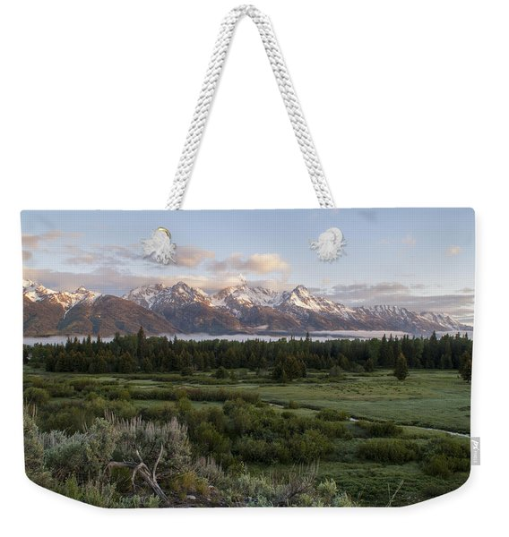Sunrise At Grand Teton Weekender Tote Bag