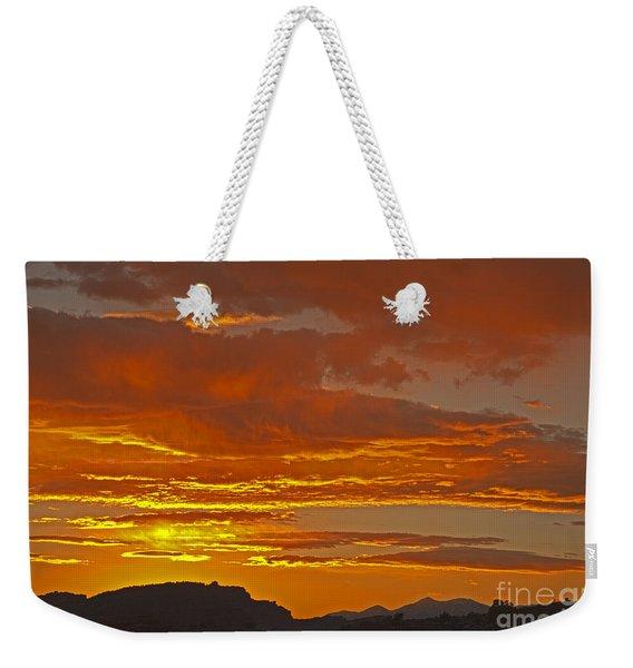 Sunrise Capitol Reef National Park Weekender Tote Bag