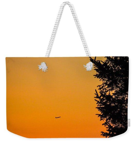 Sunrise Flight Departing Shannon Airport Weekender Tote Bag