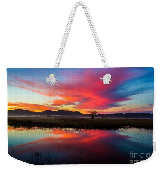 Sunrise Glory Weekender Tote Bag