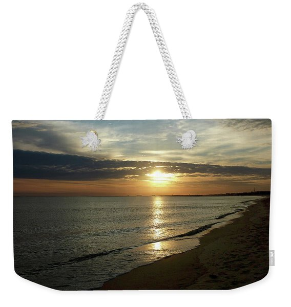 Sunrise In Norfolk Va Weekender Tote Bag