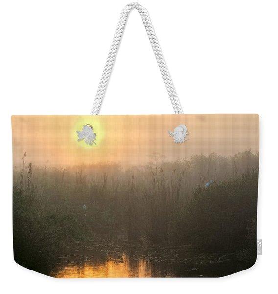 Sunrise In The Everglades Weekender Tote Bag