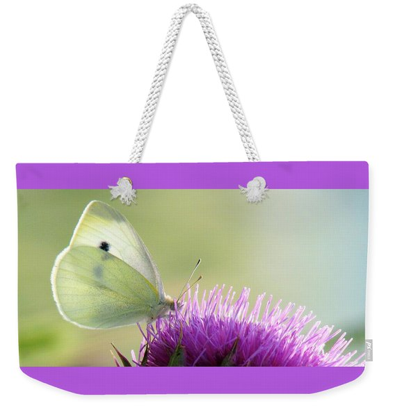 Sunrise In The Thistle Fields Weekender Tote Bag