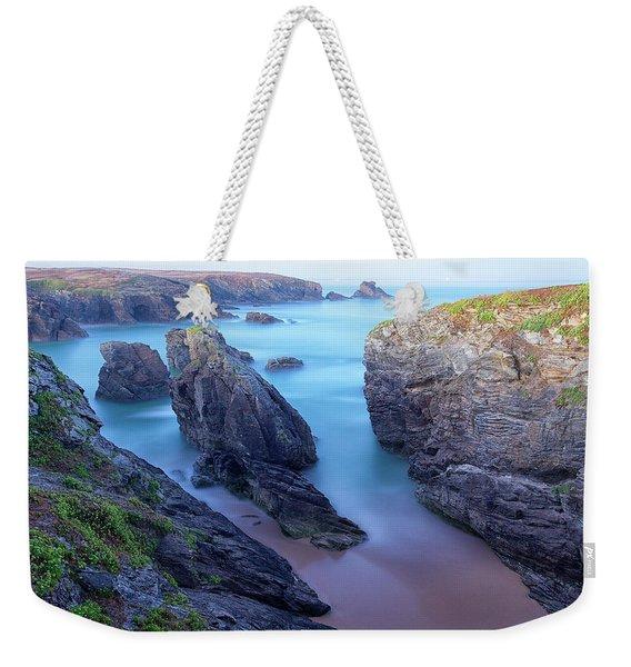Sunrise In Wild Coast In Quiberon Weekender Tote Bag