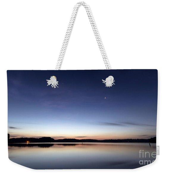 Sunrise On Lake Lanier Weekender Tote Bag